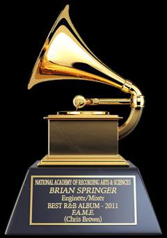 Brian Springer GRAMMY Mix Engineer